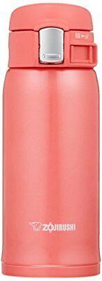 Zojirushi SM-SC36PV Stainless Mug Coral Pink import Japan