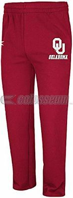 Oklahoma Sooners Adult Crimson Zone 2 Embroidered Graphic Sweatpants by Colosseu