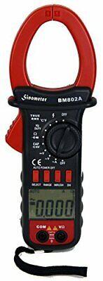 Sinometer Bm802a True Rms Ac Voltage Clamp Meter Inrush Measurement