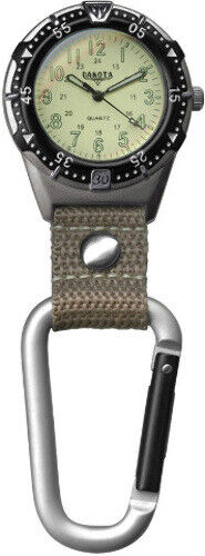New Dakota DK3867 Back Packer Clip Watch Tan