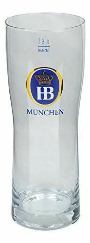 Hofbrau Munchen German Beer Glasses 0.5L, Set of 2
