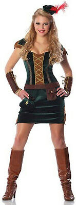 Delicious Lady Sherwood Maid Marian Sexy Robin Hood Adult Costume XS/SM