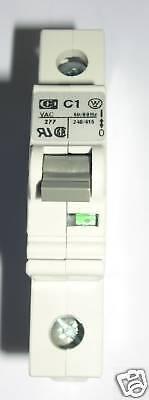 CUTLER HAMMER 1 AMP MINI CIRCUIT BREAKER, SPCL1C01 ()
