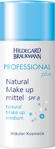 Hildegard Braukmann PROFESSIONAL plus - Natural Make up SPF 8 - mittel, 30 ml