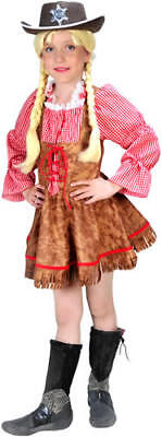 Cowgirl Cowboy Country Girl Kinder Karneval Fasching Kostüm 104 ()