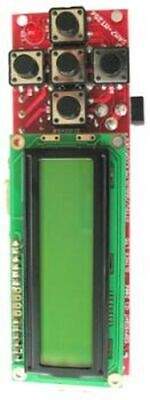 Atmel At91sam7s256 Arm Board 2x16 Lcd Rs232 Usb 5 Buttons