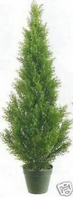 3ft CEDAR OUTDOOR UV TOPIARY TREE ARTIFICIAL CYPRESS PINE FAKE EVERGREEN JUNIPER