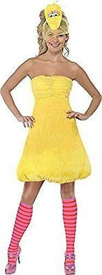 Womans Fancy Dress Costume - Sesame Street Big Bird. Christmas. Extra Small. NEW](Big Bird Fancy Dress)