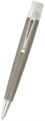 Shot Pens (RETRO 51 TORNADO ROLLER BALL PEN BIG SHOT TITANIUM 2  NEW/BOX/WARRANTY )