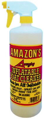 Amazon's Marine Premium Inflatable Boat Cleaner 32 Oz Spray Clear Silicone Free