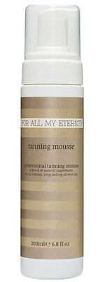 For All My Eternity Organic Instant Self Tan Mousse. BEST NATURAL FAKE TAN (Best Self Fake Tan)