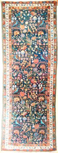 Genuine hand knotted authentic Antique  Runner rug. 3