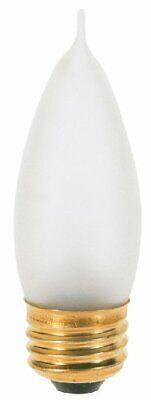 Satco Products S3768 120-Volt 40CA10 Medium Base Frost Light Bulb 120 Volt Ca10 Medium Base