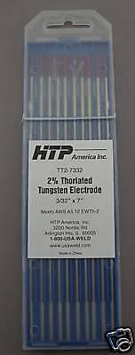 10 2 Thoriated Tungsten Tig Weld Electrodes 332 X 7