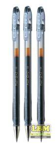 3 x Pilot G-1 Gel Roller Ball Pen 0.7mm Tip Black Ink (BL-G1-7T-B)