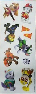 PAW PATROL wall stickers 10 decals Ryder Chase Marshall Rubble Rocky Zuma - Paw Patrol Wall Decals
