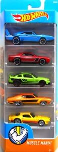 Hot Wheels 5-Pack Muscle Mania DVG01 1:64
