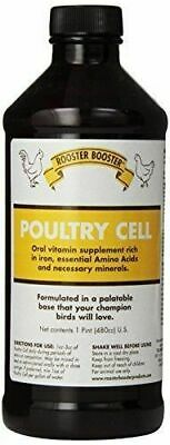 Rooster Booster Poultry Cell Bird Vitamin Supplement -