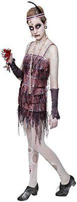 Rubie's Offiziell Damen Damen Grabstein Halloween Flapper Erwachsene Kostüm