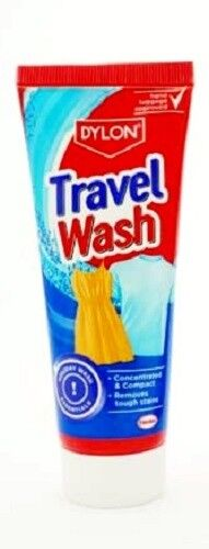 Dylon Travel Wash Holiday Concentrated Laundry Hand Luggage Approved - 75ml