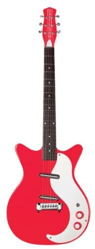 Danelectro DC59M-RD New Old Stock Pickups - Right On Red - Electric Guitar