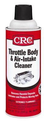 Throttle Body And Air Intake Cleaner 12Oz Can     Crc  05078