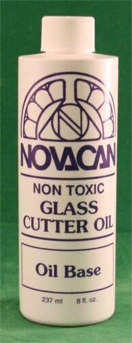Novacan Glass Cutter Cutting Oil Tools Supplies