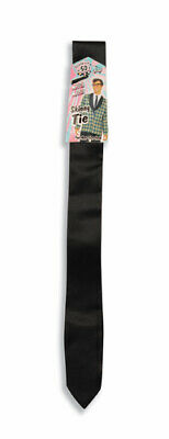 Black 50's Narrow Tie Reservoir Dogs Costumes Accessory - Reservoir Dogs Halloween Costume