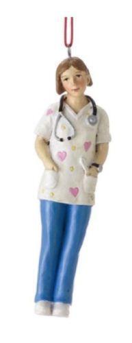 Ladies Vintage Nurse Costume Adults Uniform Fancy Dress