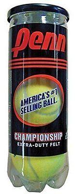 Penn Championship Tennis Balls Xd   1Can   3 Balls   Brand New   Free Shipping