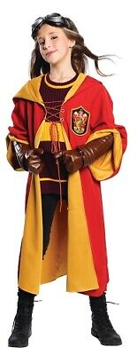 Harry Potter Quidditch Kostüm Kinder Gryffindor Cosplay Deluxe - Quidditch Outfit