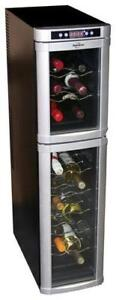 Koolatron - 18-Bottle Wine Cellar - Black (For Pick Up Only)