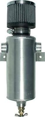 ALL36109 Aluminum Breather Tank with 2 38 NPT Bungs