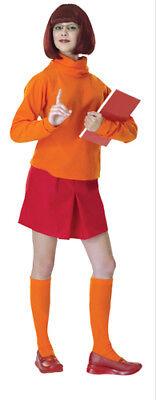 Velma Scooby Doo Standard Adult Costume 12