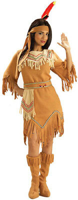 Native American Maiden Halloween Costume for Adults 14-16