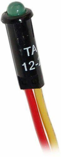 Blue Sea LED Indicator Light 12/24V DC Push-In Installation Green 8172