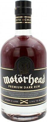 Motörhead 8 Jahre Premium Dark Rum 40.0% 0,7l