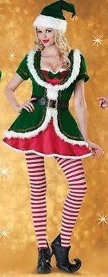 Incharacter Holiday Honey Sexy Christmas Elf Santa Claus Reindeer Costume - Incharacter Elf Kostüm