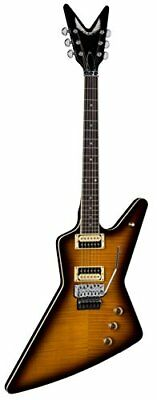 Dean Z 79 F TBZ Floyd Flame Top Solid-Body Electric Guitar, Trans Brazilia
