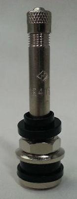 "(10) TR416L  2 - 1/4"" Chrome bolt-in Tire Valve Stem TR 416"