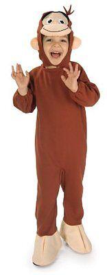 Boy George Halloween Kostüme (Rubies Curious George Monkey Children Childs Boys Halloween Costume 885286)