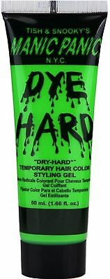 Manic Panic Dye Hard Hair Color Styling Gel, Electric Lizard 1.66 oz