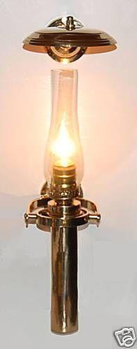 Brass Marine Lamp Ebay
