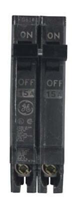 Ge Thqp215 Double Pole Circuit Breaker 15 Amp