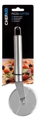 STAINLESS STEEL PASTRY NONSTICK PIZZA CUTTER WHEEL SLICER - CHEFAID