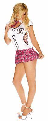 Girl Pirate Costumes For Halloween (Sexy SCHOOL GIRL Scholar PLAYBOY HOT FOR TEACHER Costume Halloween Cosplay NEW)