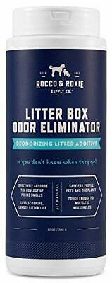 Rocco & Roxie Litter Box Odor Eliminator – Best Natural (12 oz