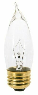 Satco Products S3764 120-Volt 25CA10 Medium Base Clear Light Bulb 120 Volt Ca10 Medium Base