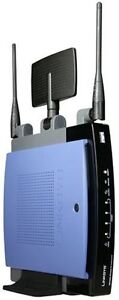 Linksys WRT300N (used) - with upgraded firmware (DD-WRT)