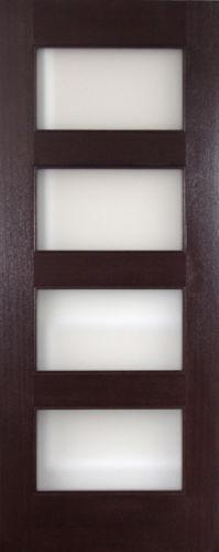 Interior glass doors ebay for 5 panel frosted glass interior door
